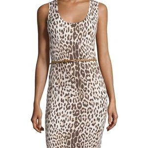 Carmen Marc Valvo | Leopard Print Fitted Dress